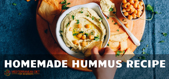 Homemade Hummus Recipe