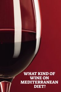 Wine On Mediterranean Diet - Pin