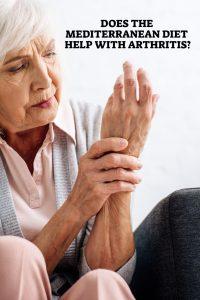 Mediterranean diet helps with arthritis