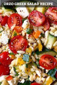 Orzo Greek Salad
