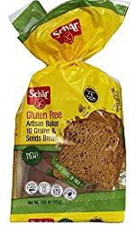 Schar NEW Gluten Free, Artisan Baker 10 Grains & Seeds Bread