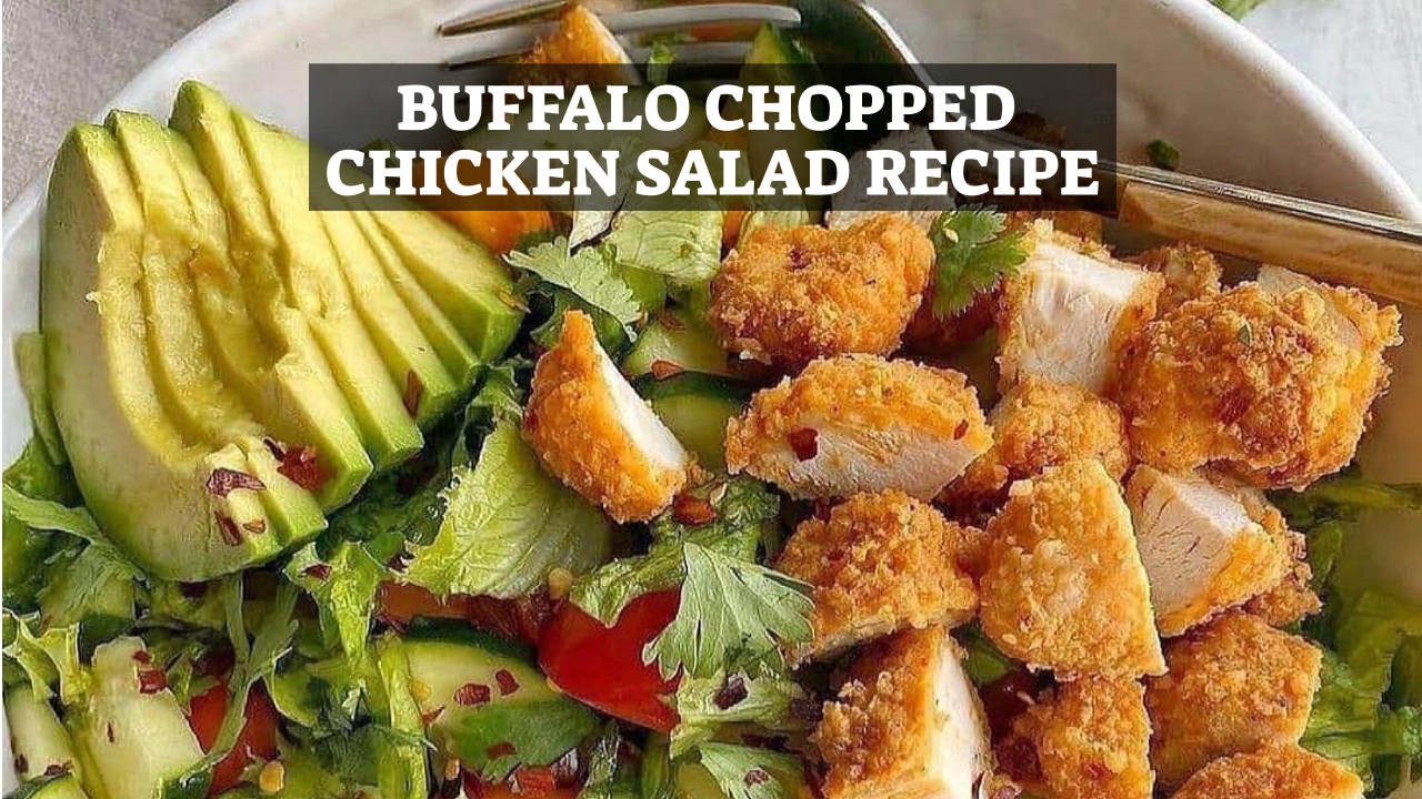 Buffalo Chopped Chicken Salad Recipe