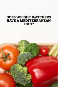 Does Weight Watchers have a Mediterranean Diet - Pin