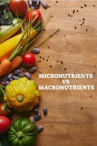Micronutrients vs Macronutrients - Pin