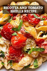 Ricotta and Tomato Shells