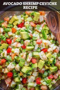 Avocado Shrimp Ceviche Recipe