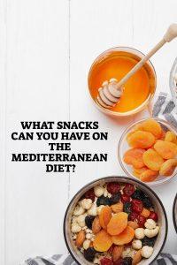 Snacks On The Mediterranean Diet